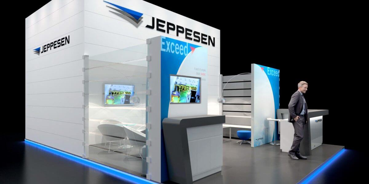 Internationale Messe: So arbeitet die Eventagentur Service Factory für Jeppesen.